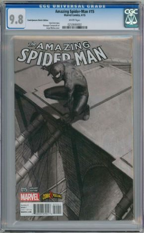 Amazing Spider-man #15 Comic Xposure Variant (2014) CGC 9.8 Marvel comic book